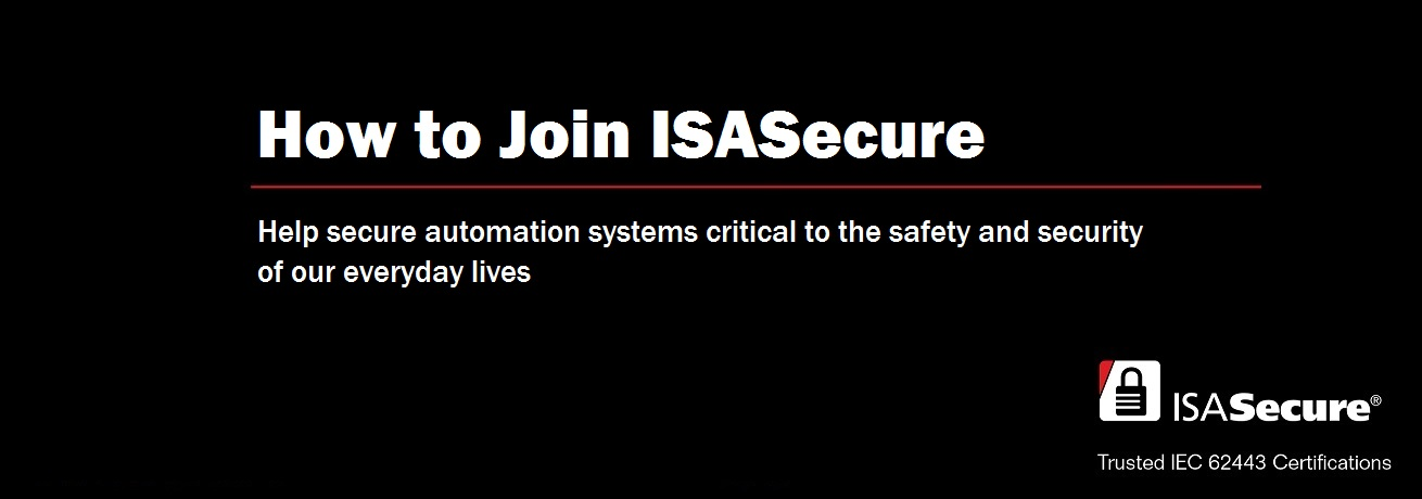 ISASecure - IEC 62443 Conformance Certification - Official Site